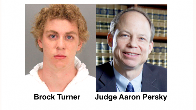 Brock Turner and Judge Aaron Persky