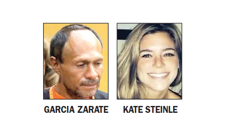 Kate Steinle case gunman indicted on federal weapons charges
