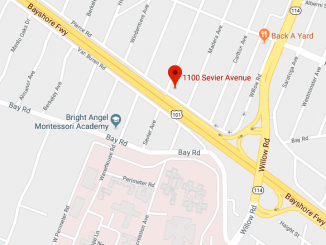 A gunman is in a standoff with police in the 1100 block of Sevier Ave. in Menlo Park.