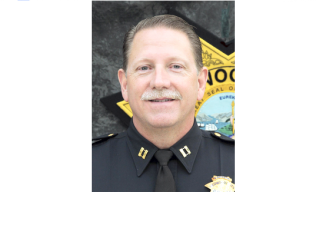 Dan Mulholland was promoted today to Redwood City police chief