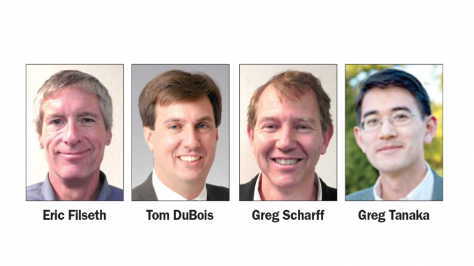 Palo Alto City Council members who called for more openness in labor negotiations.