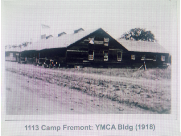 This was the Oasis building when it was part of Camp Fremont. Photo from the Menlo Park Historical Society.