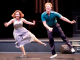 "Natalie (Donna Vivino) and Bobby (Leo Ash Evens) do the Lindy Hop in ""FINKS"" presented by TheatreWorks Silicon Valley. Photo by Kevin Berne."