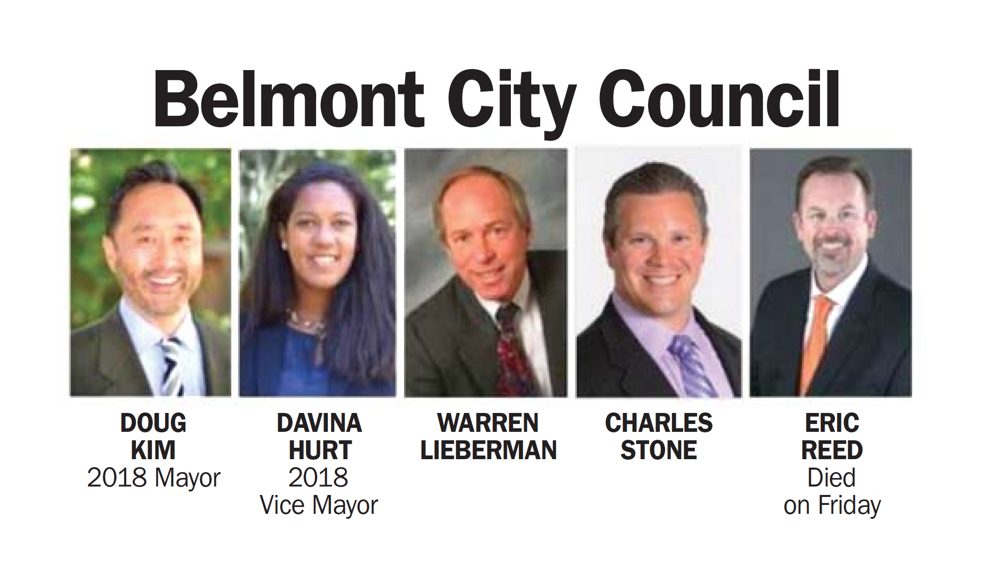 Belmont honors late councilman, picks new mayor and vice mayor