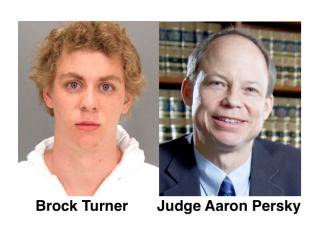 Brock Turner and Judge Aaron Persky