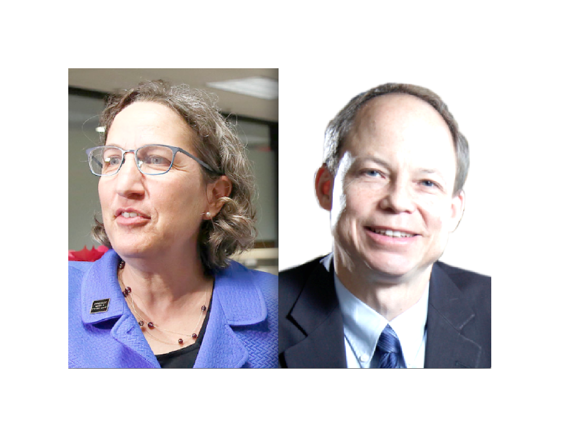 Michele Stanford Law Professor Michele Dauber and Judge Aaron Persky