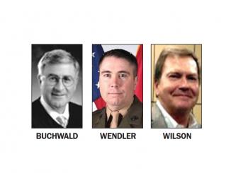 Judge candidates and incumbent