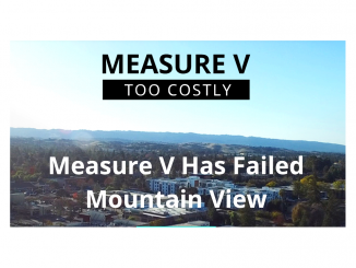 A screen grab from the Measure V Too Costly website.