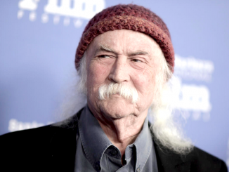 David Crosby. Associated Press 2017 file photo.