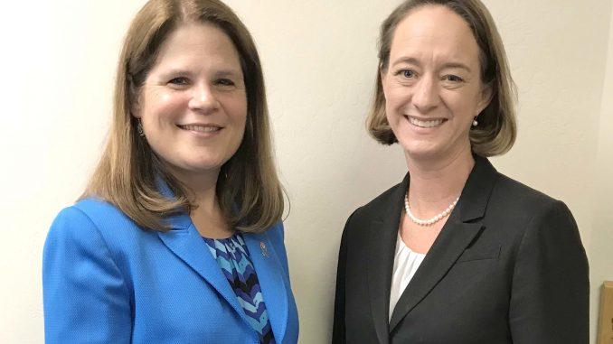 Cindy Hendrickson, left, and Angela Storey. Post photo.
