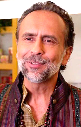 The guru Denpok, played by Bernard White