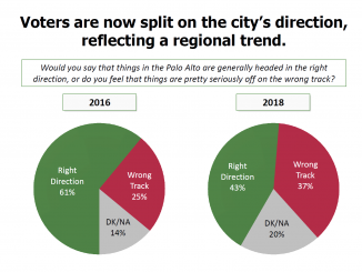A slide from the presentation pollsters will give to the City Council's Finance Committee.