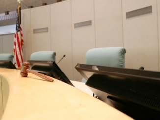 Menlo Park's City Council chambers. Photo from city website
