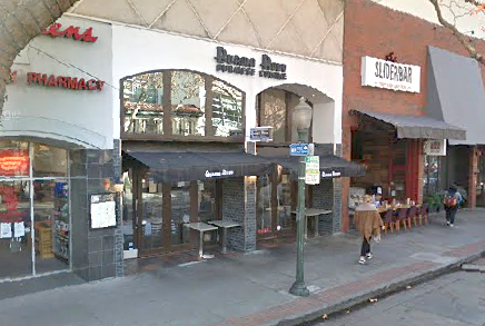 Burma Ruby on University Avenue in Palo Alto. Photo from Google Streetview