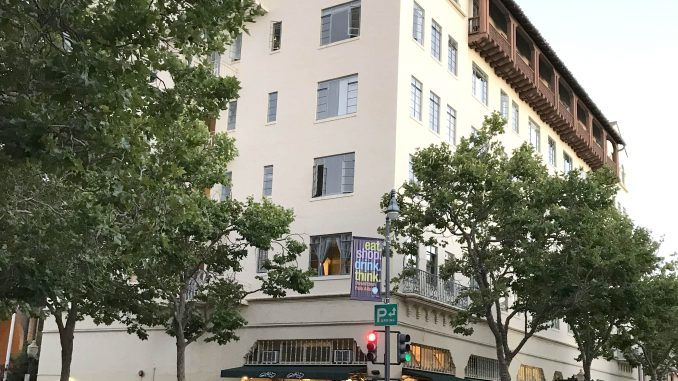 The Hotel President at 488 University Ave. in Palo Alto. Post photo.
