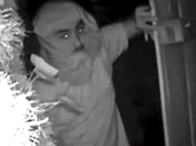 Palo Alto police today released this man who was photographed by a home surveillance system while he was peeping into a bedroom window of a home in the 100 block of Waverley Street.