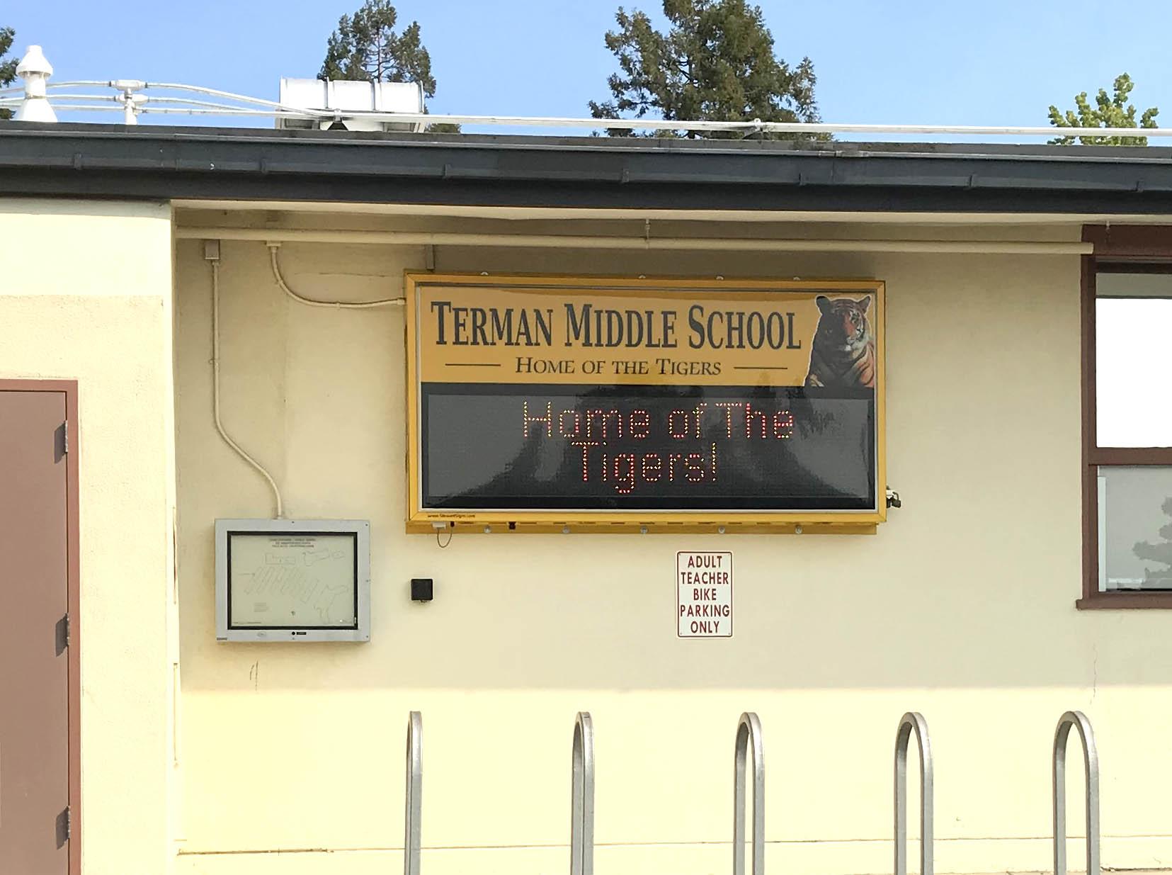terman electric sign