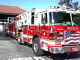 One of the Palo Alto fire trucks that's housed at Station 6 on the Stanford campus. Frame grab from www.fireapparatusmagazine.com.