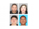 The four who were arrested are Shawn Ray, top left, Michael Walker, top right, Alexander Castillo, bottom left, and Jose Sotomayor.