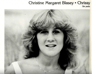 75531ffb311 Christine Blasey Ford's yearbook photo from Holton-Arms School. An archive  of her LinkedIn reveals that she ...