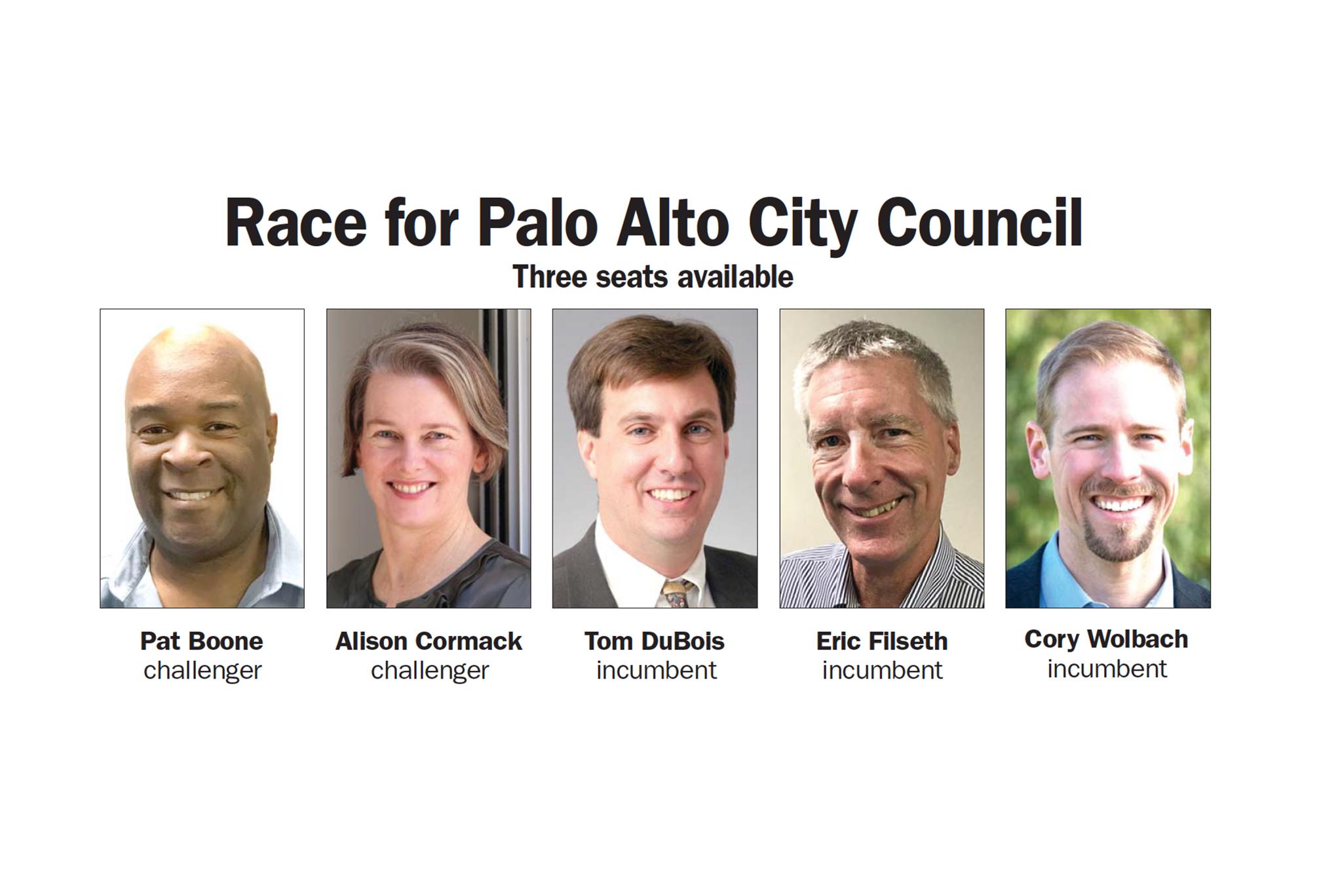 palo alto council candidates