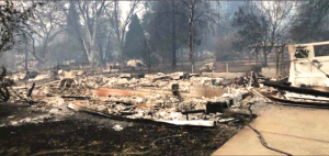 Gartner's home was destroyed in the Camp Fire in Paradise.