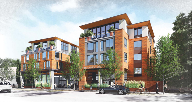 Proposed hotel for 4256 El Camino Real in Palo Alto. Photo from city website.