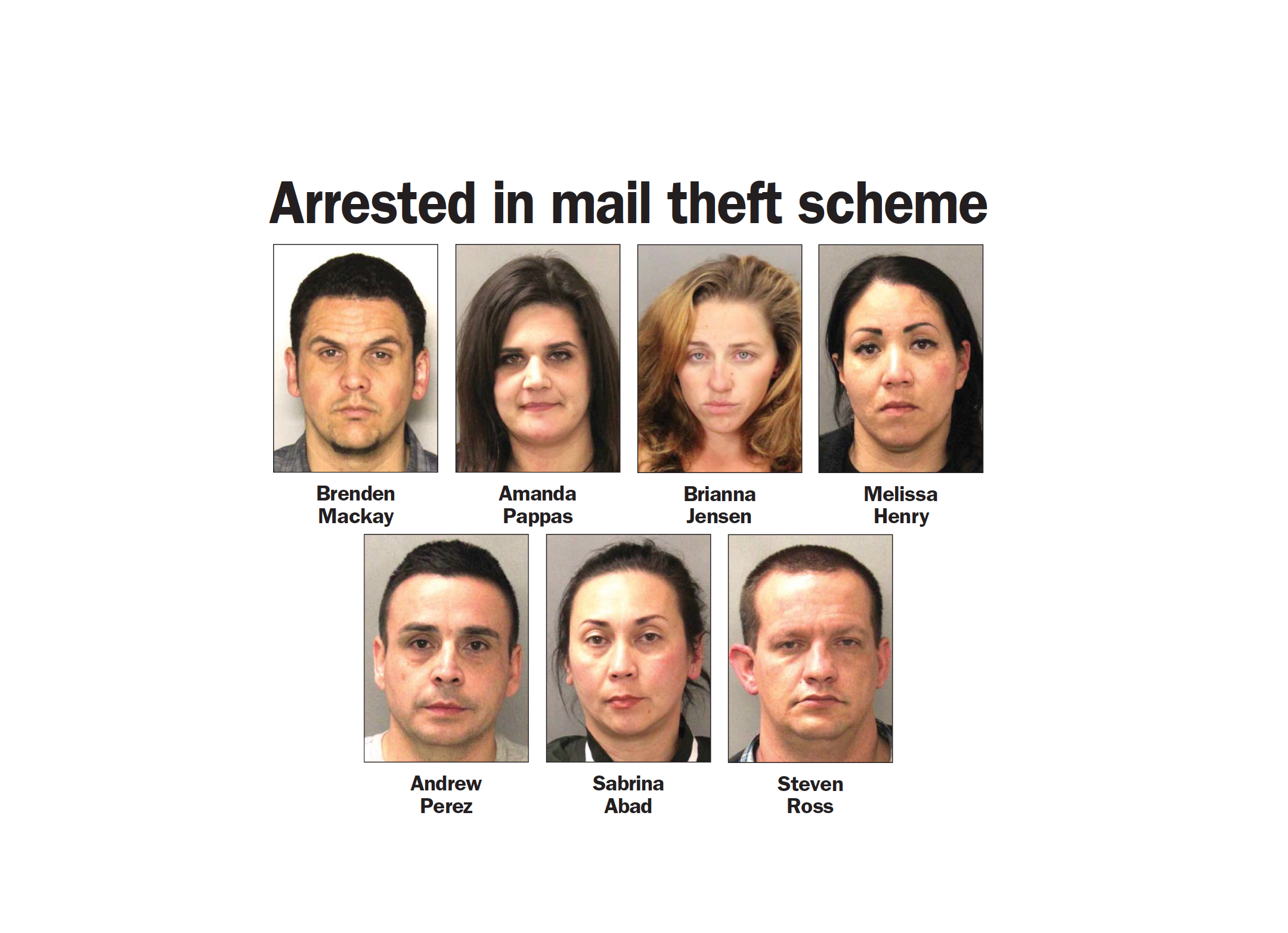 theft ring arrests