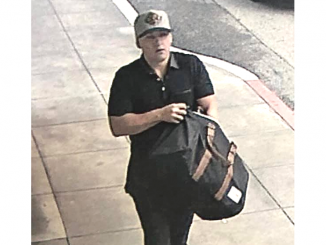 San Mateo police on Sunday (May 19) were looking for this man who was believed to have been carrying a gun near the Hillsdale Mall.