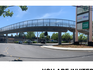 The new overpass over Highway 101 in East Palo Alto. Photo courtesy of the city of East Palo Alto.