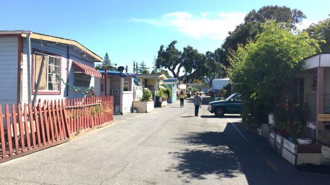 The Buena Vista Mobile Home Park at 3980 El Camino Real in Palo Alto. Post photo.