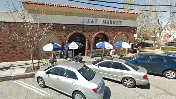 Gustavo Alvarez, who is now suing the city, made the news in 2012 when he was arrested for breaking the skylight at the old JJ&F Market at 520 College Ave. and rappelling into the store using a satellite dish cable as a rope. Google photo.