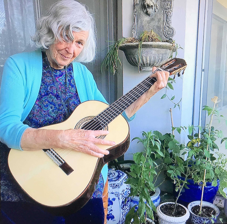 stephanie with guitar