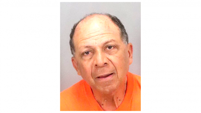 Jeremias Frago-Rodriguez, 63, a nursing assistant at Webster House, was arrested on June 13. Palo Alto Police Department photo.