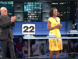 Tonika Miller went on 'Deal or No Deal' with host Howie Mandel before she was arrested in a Redwood City fraud case. CNBC photo.