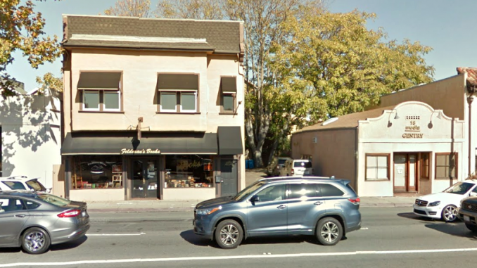 Menlo Park's Feldman's Bookstore, 1170 El Camino Real, and the former Gentry Magazine building, 1162 El Camino, could be demolished to make way for nine apartments.