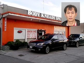 Gang Wang worked at Body Kneads Day Spa, 810 San Antonio Road in Palo Alto.