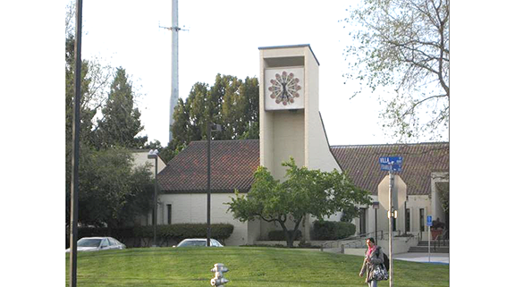 The current Mountain View Police Station at 1000 Villa St. Photo from city website.