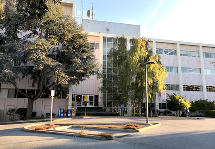 The Palo Alto Courthouse at 270 Grant Ave. in the California Avenue district. Post file photo.